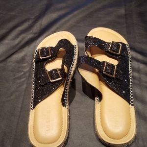 Lane Bryant Sandals, EUC